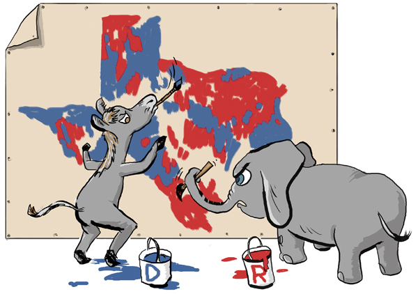 Texas Politics - Redistricting Texas Style