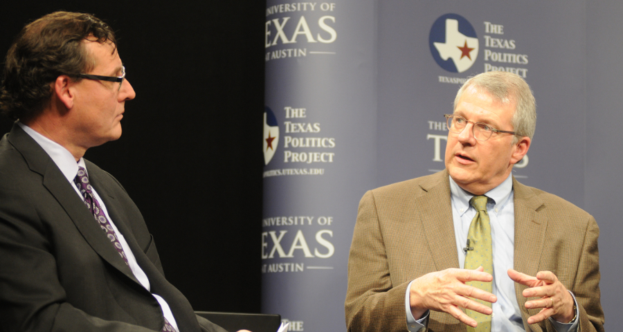 Ross Ramsey of the Texas Tribune and Jim Henson, Director of the Texas Politics Project