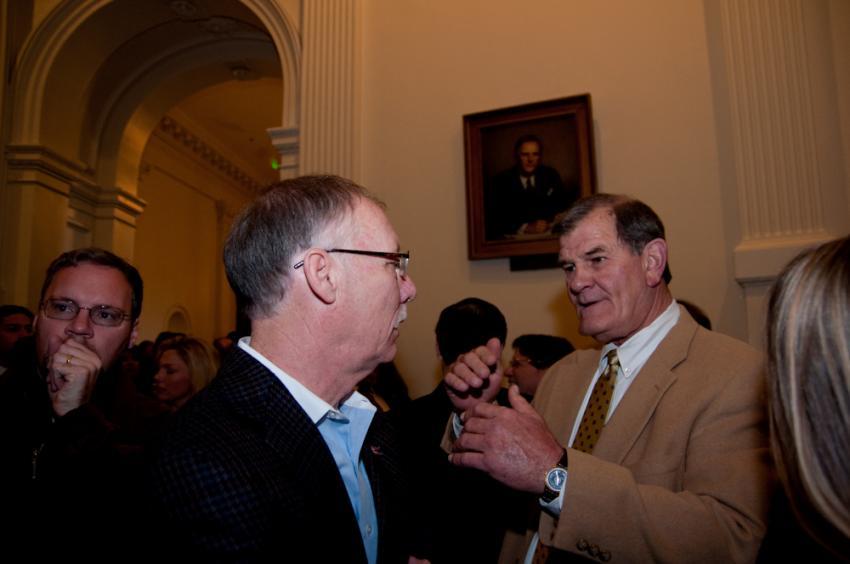 Straus Announces Votes for Speaker