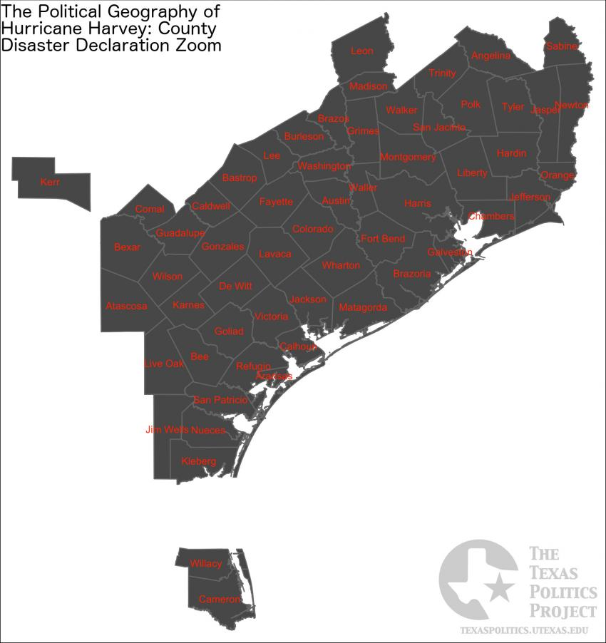 Disaster Declared Counties