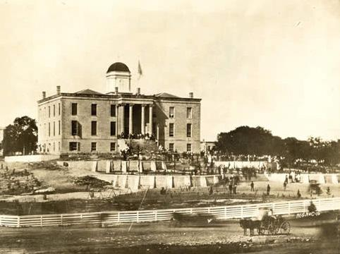 Photo of the Old Stone Capitol.