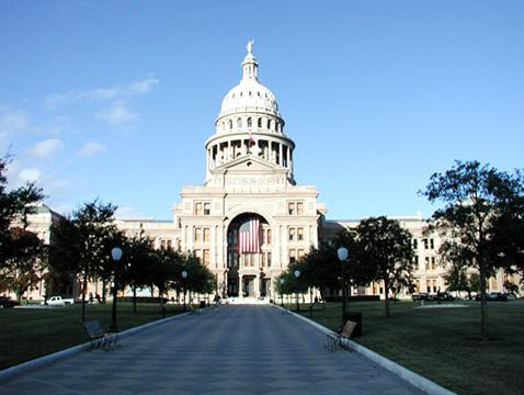 Photo of the current capitol building.